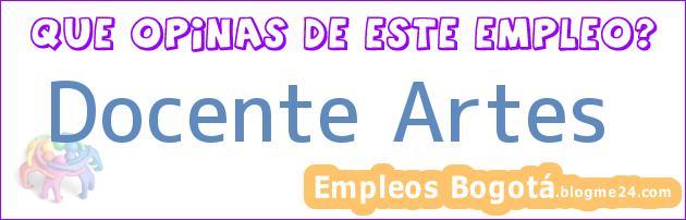 Docente Artes