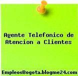 Agente Telefonico de Atencion a Clientes