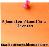 Ejecutivo Atención a Clientes