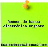 Asesor de banca electrónica Urgente