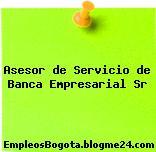 Asesor de Servicio de Banca Empresarial Sr