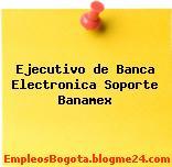 Ejecutivo de Banca Electronica Soporte Banamex