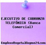 EJECUTIVO DE COBRANZA TELEFÓNICA (Banca Comercial)