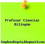 Profesor Ciencias Bilingüe