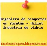 Ingeniero de proyectos en Yucatán – Millet industria de vidrio