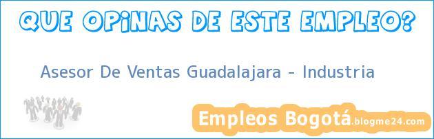Asesor De Ventas Guadalajara – Industria