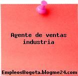 Agente de ventas industria