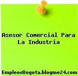 Asesor Comercial Para La Industria