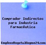 Comprador Indirectos para Industria Farmacéutica