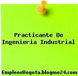 Practicante De Ingenieria Industrial