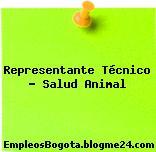 Representante Técnico – Salud Animal