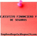EJECUTIVO FINANCIERO Y DE SEGUROS