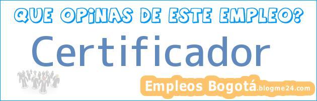 Certificador