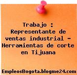 Trabajo : Representante de ventas industrial – Herramientas de corte en Tijuana