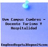 Uvm Campus Cumbres – Docente Turismo Y Hospitalidad