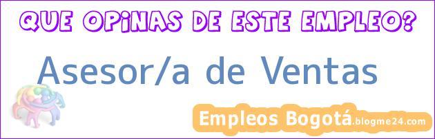 Asesor/a de Ventas