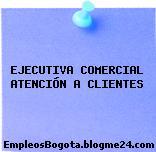 EJECUTIVA COMERCIAL ATENCIÓN A CLIENTES