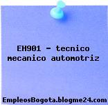 EH901 – tecnico mecanico automotriz