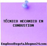 TÉCNICO MECANICO EN CONBUSTION