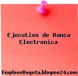Ejecutivo de Banca Electronica