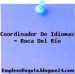 Coordinador De Idiomas – Boca Del Río