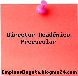 Director Académico Preescolar