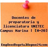 Docentes de preparatoria y licenciatura UNITEC Campus Marina   [W-20]