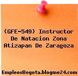 (GFE-549) Instructor De Natacion Zona Atizapan De Zaragoza