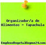 Organizador/a de Alimentos – Tapachula