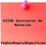 OT248 Instructor De Natacion