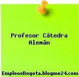 Profesor Cátedra Alemán