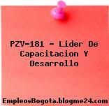 PZV-181 – Lider De Capacitacion Y Desarrollo