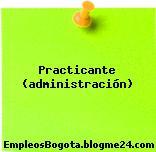 Practicante (administración)