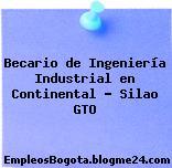 Becario de Ingeniería Industrial en Continental – Silao GTO
