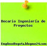 Becario Ingeniería de Proyectos