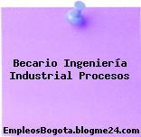 Becario Ingeniería Industrial Procesos