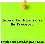 Intern De Ingeniería De Procesos