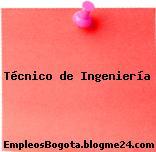 Técnico de Ingeniería