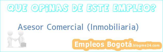 Asesor Comercial (Inmobiliaria)