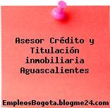 Asesor Crédito y Titulación inmobiliaria Aguascalientes