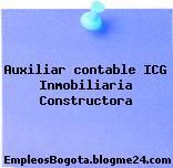 Auxiliar Contable – Icg Inmobiliaria Constructora
