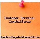 Customer Service- Inmobiliaria