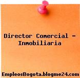 Director Comercial – Inmobiliaria