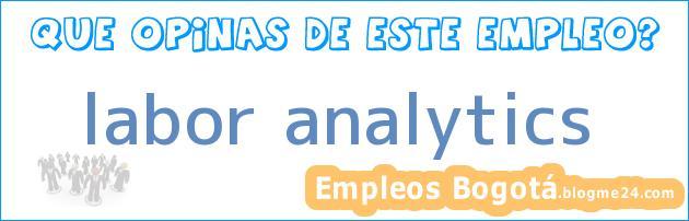 labor analytics