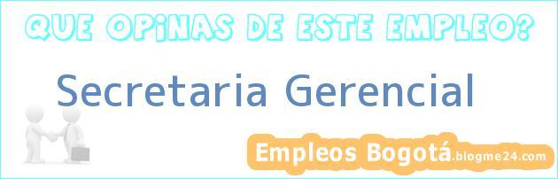 Secretaria Gerencial