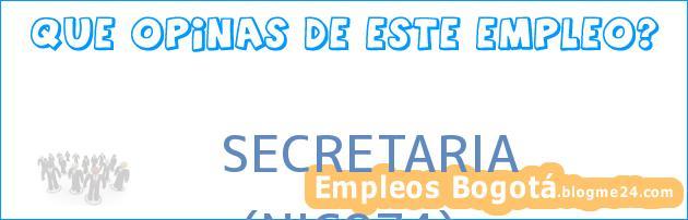 SECRETARIA | (NIC974)