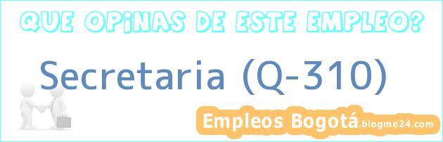 Secretaria (Q-310)