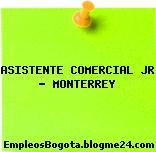 ASISTENTE COMERCIAL JR – MONTERREY