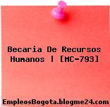 Becaria De Recursos Humanos | [MC-793]