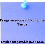 Programadores CNC Zona Santa